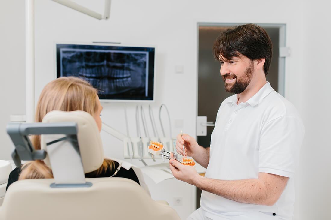 Beratung - Gemeinschaftspraxis Bittelmeyer und Deister - Zahnarzt München