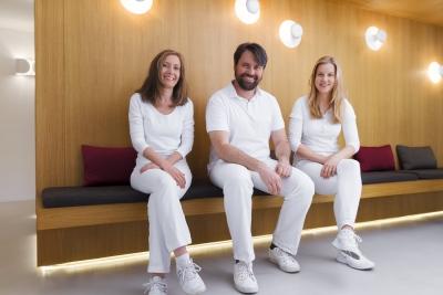 Die drei Zahnärzte der Gemeinschaftspraxis Bittelmeyer und deister - Praxis - Zahnarzt München
